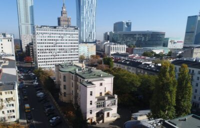 Tender for the construction of the Warsaw Ghetto Museum. Bid opening.