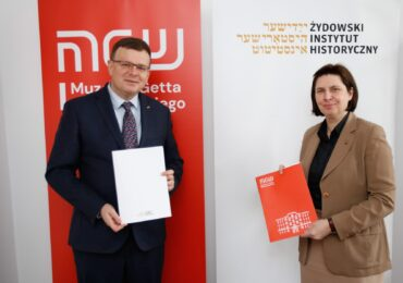 Cooperation agreement between the Jewish Historical Institute and the Warsaw Ghetto Museum