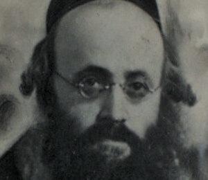 Kalonimus Kalman Szapiro (20.05.1889–03.11.1943)