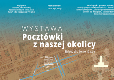 """""""Pocztówki z naszej okolicy. Historia ulic Siennej i Śliskiej"""""""