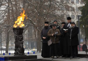 Dzień Pamięci o Ofiarach Holokaustu w Warszawie.