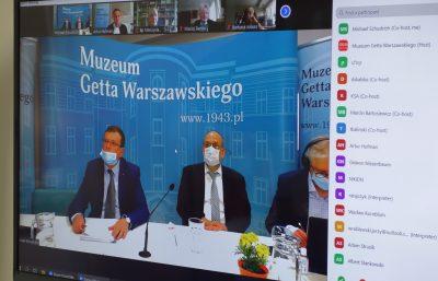 Zebranie Rady Muzeum Getta Warszawskiego