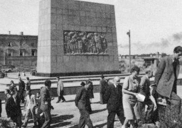Mur getta warszawskiego po wojnie