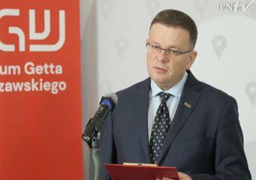 Konferencja prasowa online Instytutu Pamięci Narodowej i Muzeum Getta Warszawskiego