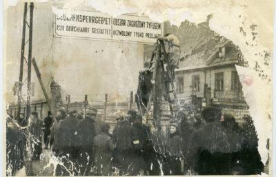 Tyfus w getcie warszawskim
