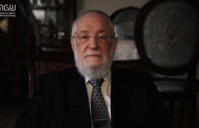 Rabin Israel Meir Lau o powstaniu w getcie warszawskim