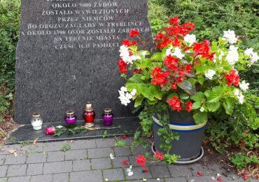 Obchody 79. rocznicy zagłady getta w Mińsku Mazowieckim