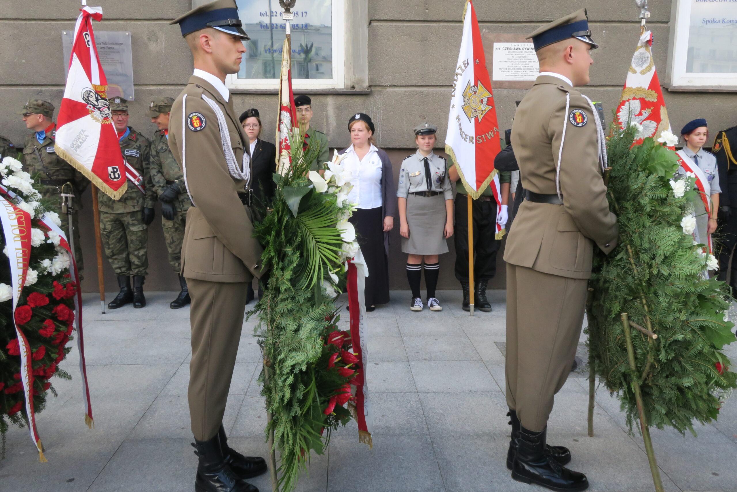 77. rocznica odbicia przez Powstańców Warszawy budynku PAST-y