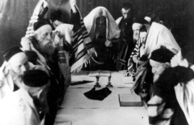 Neila żydowskiej Warszawy – ostatnia modlitwa Jom Kipur