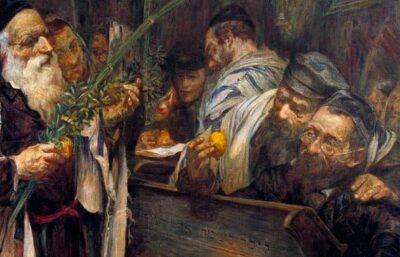 Sukkot w getcie warszawskim