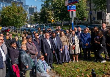 Uroczystość nadania ulicy imienia Dow Bera Meiselsa